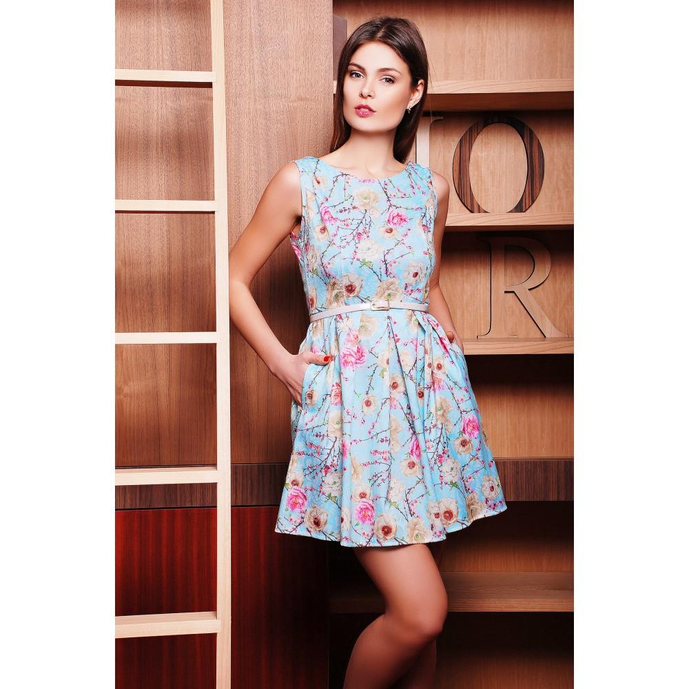 1b7816b881f Купить летнее платье в цветочек Fiona в Якутске